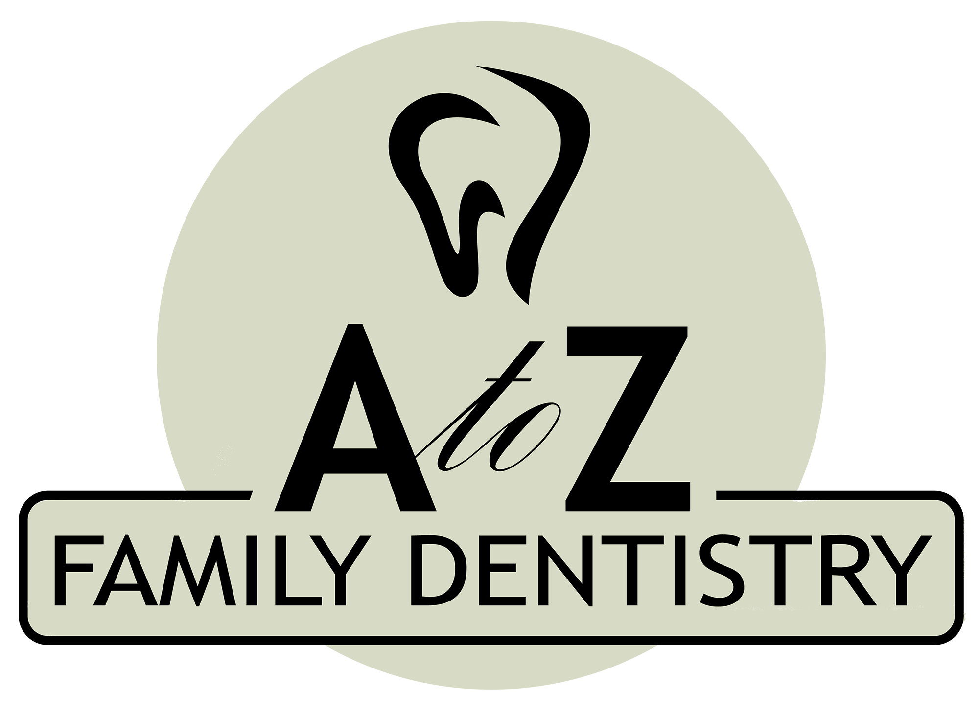 A to Z Family Dentistry Logo